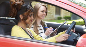 female driving lessons Manchester